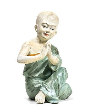 Shaolin Zen Buddha Yoga Monk - Namaste