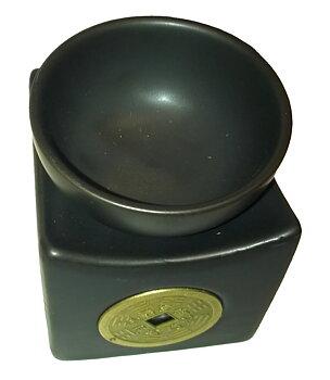 Aromalamp Ceramic - Feng Shui Coin