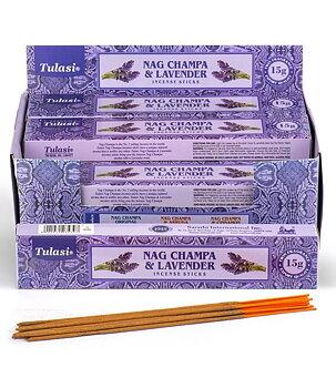 Incense Sticks Tulasi - Nag Champa & Lavender