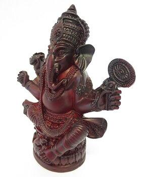 Hindu Statue - Ganesh, Red