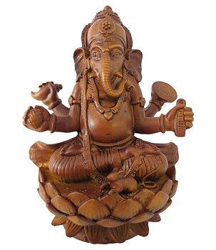 Hindu Statue - Ganesh, Brown
