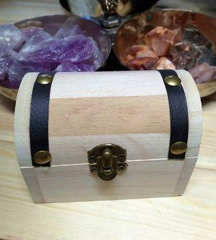 Treasure Chest - Box with Assorted Gemstones