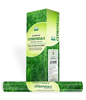 Incense Sticks Darshan Hexa - Citronella