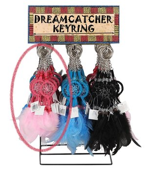 Dreamcatcher Key Ring - Colors, 22x3cm