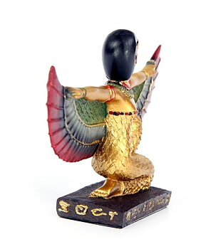 Egyptian Golden Statue - Goddess Isis, 9cm
