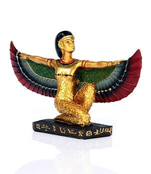 Egyptian Golden Statue - Goddess Isis, 9cm