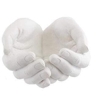 Crystal Holder Display Dish - Healing Hands