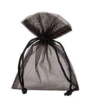 Gemstone PENDULUM - Clear Quartz n' Organza Bag