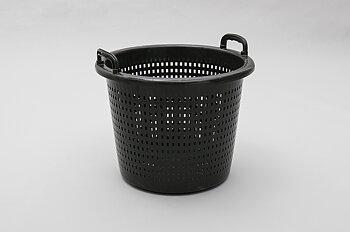 Helgjuten Fiskebasker, 44 liter, svart