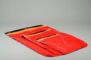Flag, Dacron, 50x70 cm, Red
