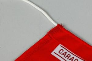 Flag, Dacron, 70x90 cm, Red