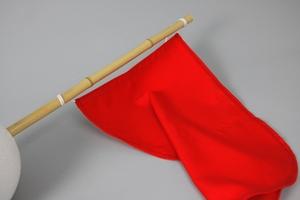 Flag, Dacron, 70x90 cm, Orange