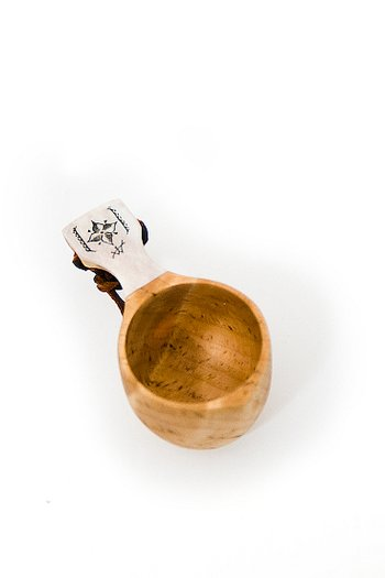 Wooden Cup Kåsa Snaps Deluxe