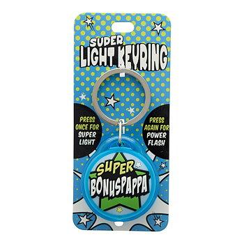 Nyckelring, Super light - Super Bonuspappa