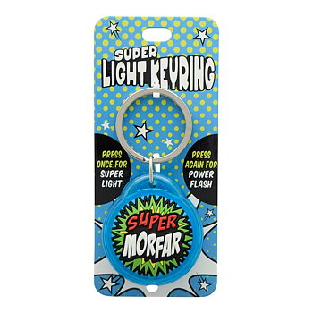 Nyckelring, Super light - Super Morfar