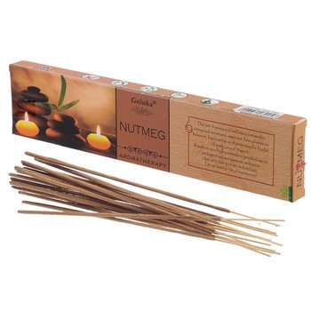 Rökelsestickor, Goloka Aromatherapy - Nutmeg (Muskot)