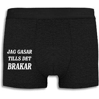 Boxershorts - Jag gasar tills det brakar