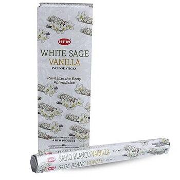 Rökelsestickor - White Sage Vanilla