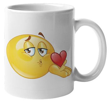 Mugg - Emoji, I blow you a kiss