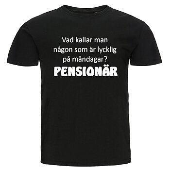 T-shirt - Vad kallar man någon, Pensionär