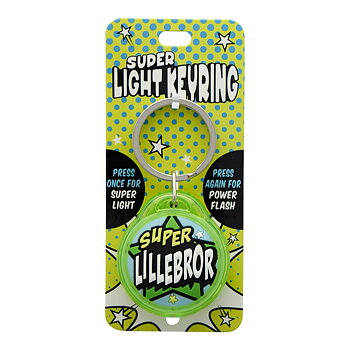 Nyckelring, Super light - Super Lillebror
