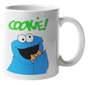 Mugg -  Kakmonstret, Cookie