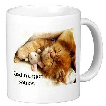 Mugg - God morgon sötnos