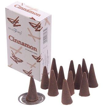 Rökelsekoner - Cinnamon