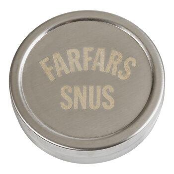 Snusdosa - Farfars snus