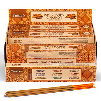 Rökelsestickor, Tulasi - Nag Champa & Cinnamon