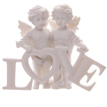 Änglar med bokstäver, Love