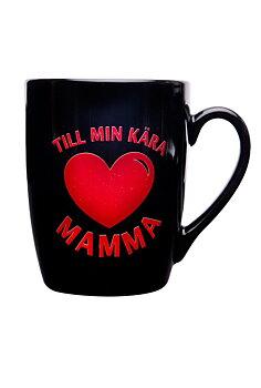 Mugg - Till min kära mamma, Svart