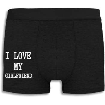Boxershorts - I love my girlfriend