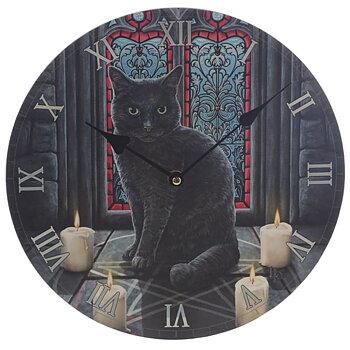 Väggklocka - Katt, Sacred circle