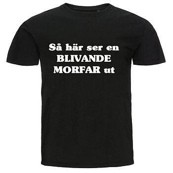 T-shirt - Så här ser en blivande morfar ut