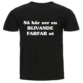 T-shirt - Så här ser en blivande farfar ut