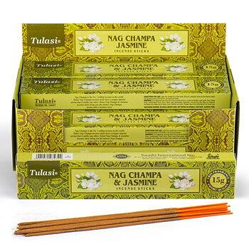 Rökelsestickor, Tulasi - Nag Champa & Jasmine