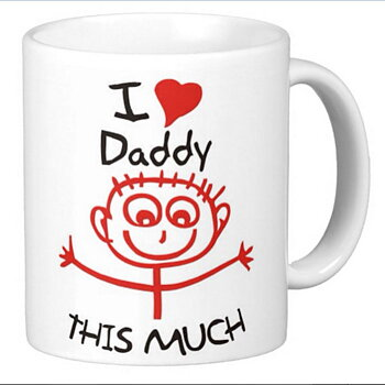 Mugg - I Love Daddy this much