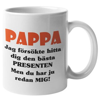 Mugg - Pappa presenten