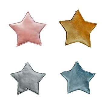 Numero 74- Star Cushion Small Velvet Mix Col