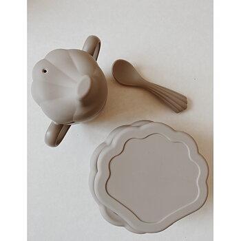 Konges Slöjd - clam set warm grey