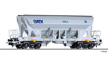 Hopper car Faccns of the GATX / Nordic Rail Service / Basalt