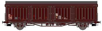 Godsvagn SJ Hbis 21 RIV 74 SJ 225 0 472-0
