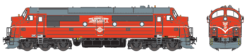 Diesellok Tågkraft TMX 1033 (DC)