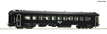 Passvagn A7 1.Kl. svart, SJ