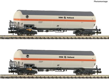 2 piece set pressure gas tank wagons