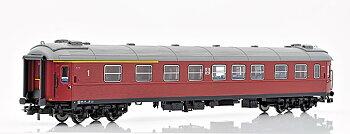 Personvagn SJ AB2 4853, vit SJ
