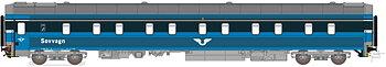 Sovvagn SJ WL4 5589 Blå Gen.1
