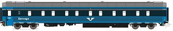 Sovvagn SJ WL4 5600 Blå Gen.2