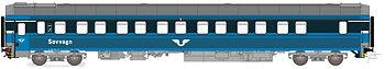 Sovvagn SJ WL6 5619 Blå Gen.1